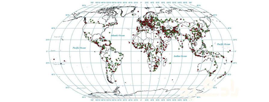 طول و عرض جغرافیایی چیست؟